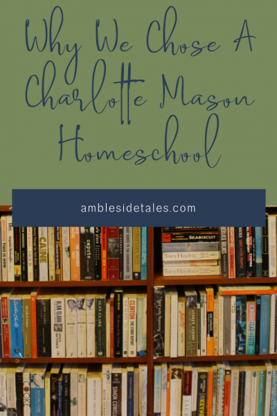 Education choices are very personal. In this post I share the various things our family weighed as we made our decision to pursue a Charlotte Mason homeschool program.