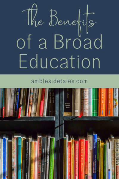 One of the reason we chose a Charlotte Mason homeschool was the emphasis on a broad education. In this post, I share how our broad studies and living books have helped us make connections between our subjects and life.
